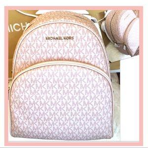 Michael KORS Backpack Abbey Ballet W Shopping Bag